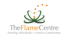 The Flame centre logo