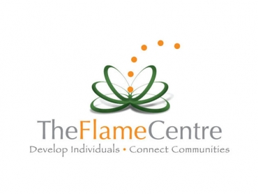 The Flame centre logo
