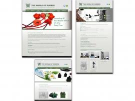 World of Rubber website design