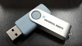 blue thumbdrive UR
